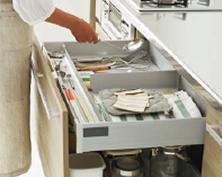 キッチン 収納スペース
