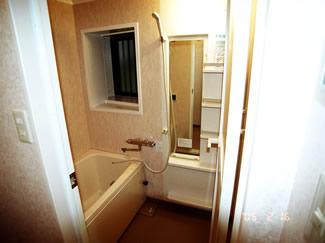 アフター 浴室