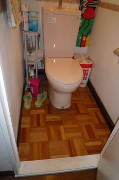 ビフォー トイレ
