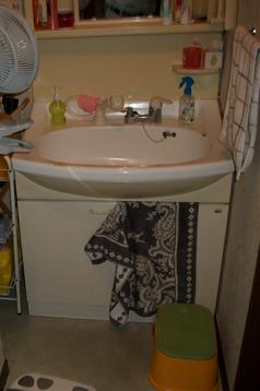 ビフォー 洗面所