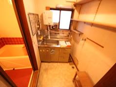 ビフォー 2階 洗面化粧台