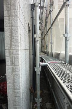 ビフォー 鉄部・外壁