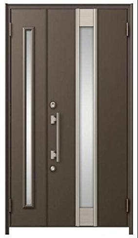 リシェント 200型 H22欄間なし親子ドア アルミ色