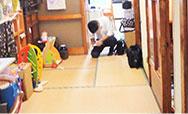 室内の調査