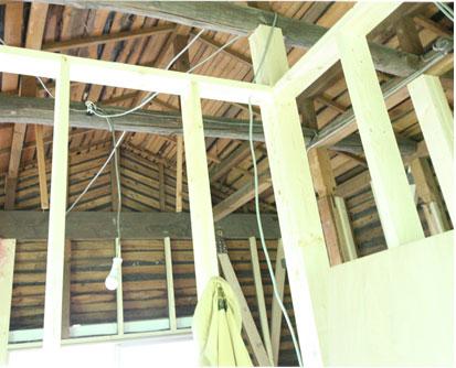 耐震診断 家 屋根 内部