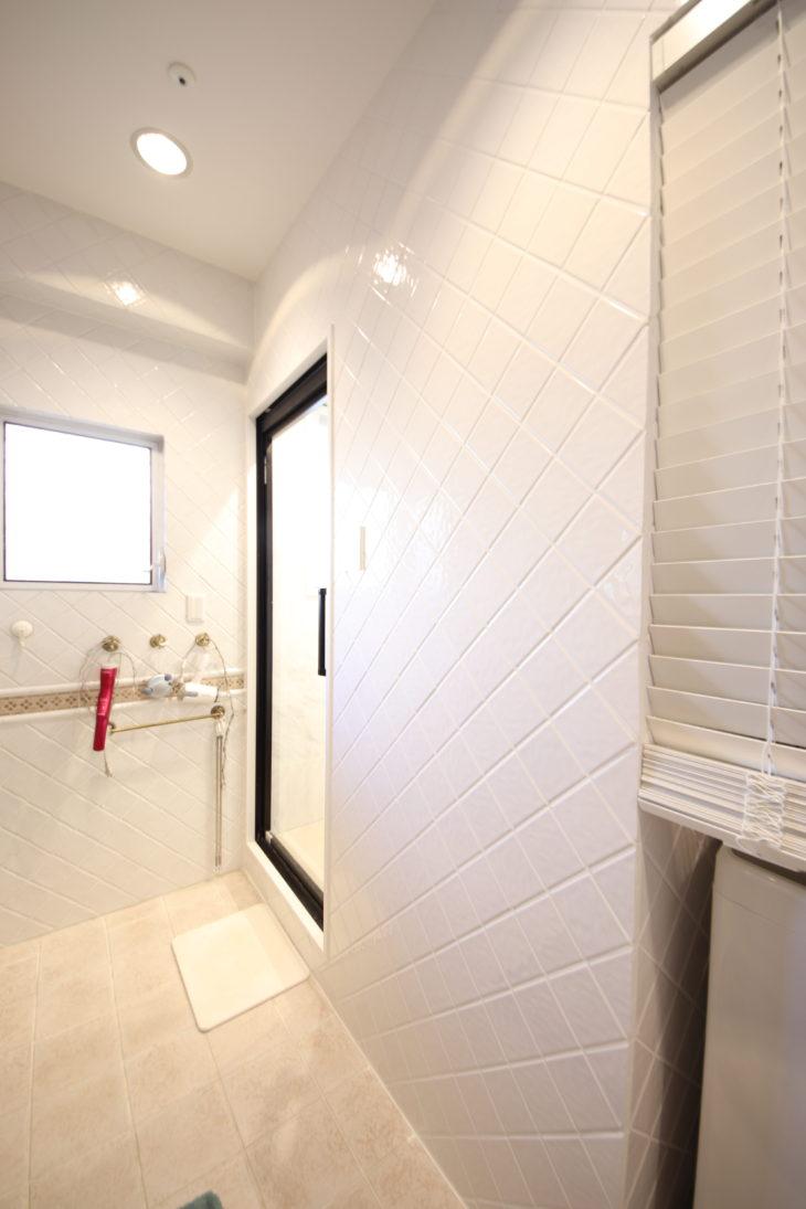 ラグジュアリーな浴室リフォーム